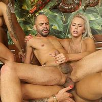 Preview TS Raw - 5 Hung Latinas vs 1 Guy Raw Orgy 4k